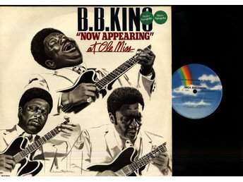 B.B. KING - NOW APPEARING AT OLE MISS - GF - 2-LP
