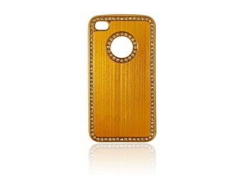 iPhone 4 / 4S Skal Bling Guld