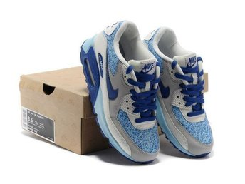 Nike Air Max 90 strlk 37 Damskor blue with grey
