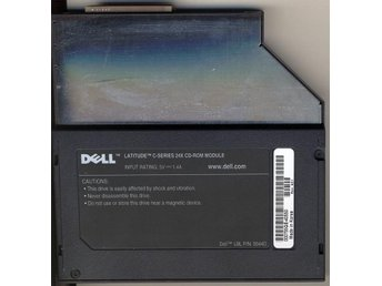 Dell Latitude C-Series 24x Cd-rom Module - Farsta - Dell Latitude C-Series 24x Cd-rom Module - Farsta