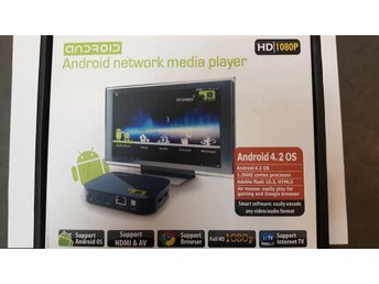Android Network Media Player, HD 1080p