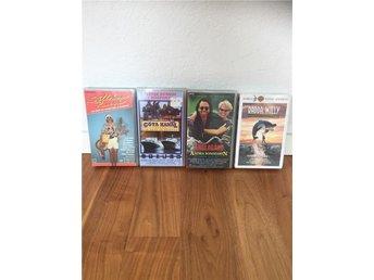 VHS Paket med fyra svenska VHS filmer - Solna - VHS Paket med fyra svenska VHS filmer - Solna