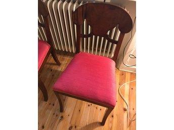 1800-tal stolar trä rosa vintage stol köksstol - Hägersten - 1800-tal stolar trä rosa vintage stol köksstol - Hägersten