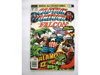 US Marvel - Captain America vol 1 # 203 in 8.0 - pence variant