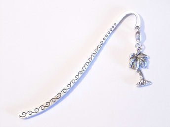 Palmträd bokmärke / Palm tree bookmark
