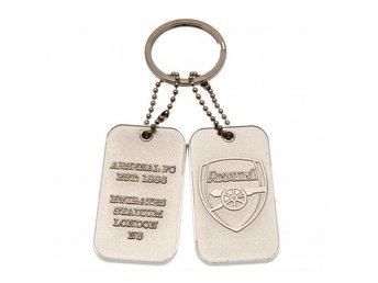 Arsenal Nyckelring Dog Tag