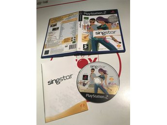 PlayStation 2 PS2 spel Singstar