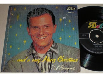 Pat Boone EP/PS White christmas 1958