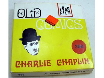 Film super 8mm Charlie Chapplin old comics 258