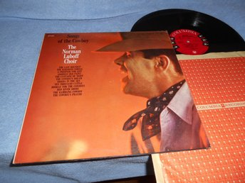 Norman Luboff Choir - Songs Of The Cowboy (LP) EX
