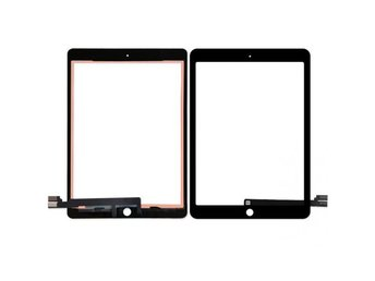 "iPad 9.7"" (2017) Glas Digitizer Touch Panel- Svart"