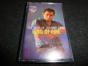 Johnny Cash - The best of: Ring of ice - Kassettband
