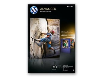HP Advanced Glossy Photo Paper 10 x 15cm 40 Stycken