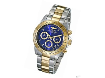 Invicta 3644 Men's Speedway Chronograph Two-tone Steel Watch