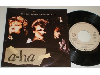 A-Ha 45/PS The sun always shines on T.V. 1985 VG++