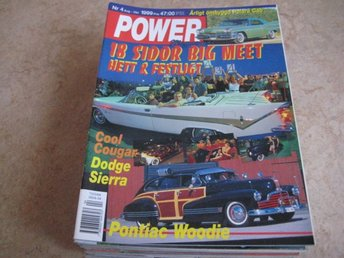 POWER NR 4 1999.   18 SIDOR BIG MEET, PONTIAC -46 ,M.M