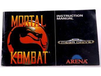 Mortal Kombat (Manual) -  - PAL (EU)