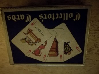 antique waddington playing cards 2 kortlekar nyskick