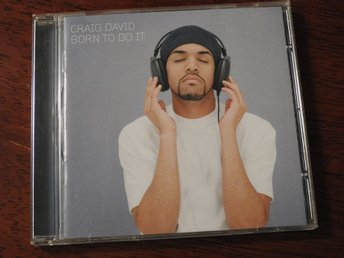 Craig David - Born to do it CD (2000) Follow Me, 7 Days,Rendezvous,Fill Me in