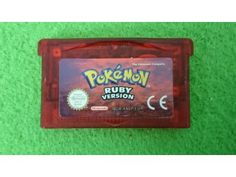Pokemon Ruby Gameboy Advance Nintendo GBA