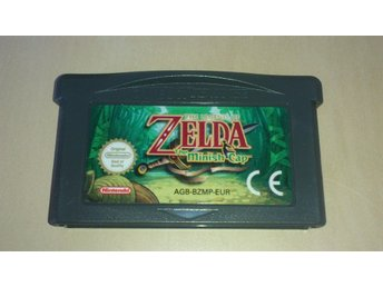 Nintendo Advance SP spel ZELDA