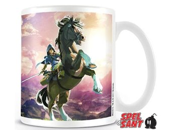 Zela Breath of The Wild Guardian Chase Ceramic Mug