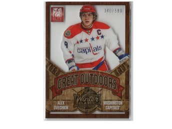 12-13 Panini Rookie Anthology Elite Great Outdoors Alexander Ovechkin /500