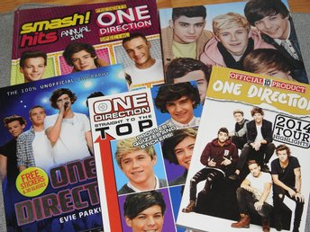 One Direction böcker x 5 Engelska English books