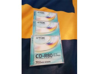 TDK CD-R80 700MB nya