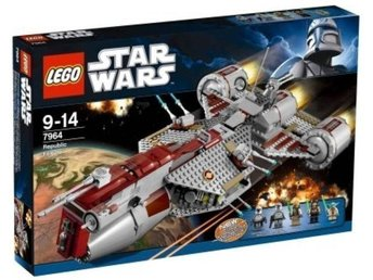 Lego Star Wars 7964 - Republic Frigate (inkl Originalkartong)