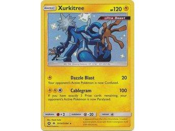Xurkitree SV14//SV94 SHINY HOLO ALTERNATE ULTRA RARE Hidden Fates Pokemon NM