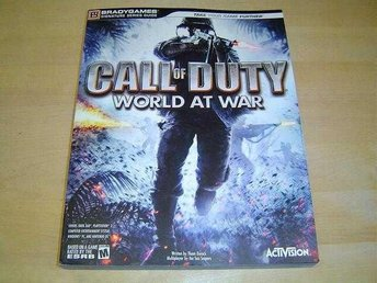 CALL DUTY  WORLD AT WAR GUIDE PLAYSTATION 3 & XBOX 360 NYTT