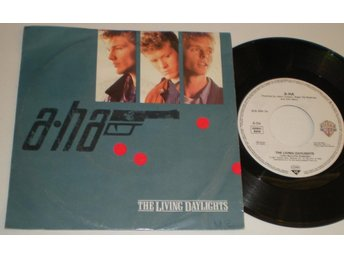 A-Ha 45/PS The living daylights 1987