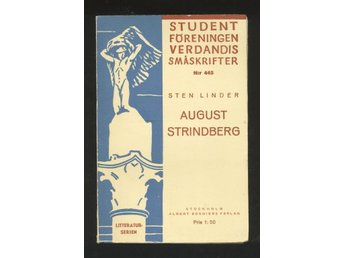 Linder, Sten: August Strindberg.