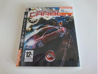 - Need for Speed Carbon PS3 -