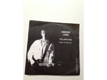 Anders Lord - Yellow Eyes / Back To The City, vinyl EP