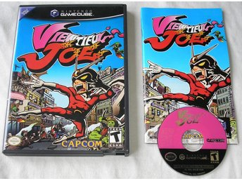 Viewtiful Joe (CAPCOM) (Gamecube) (NTSC)