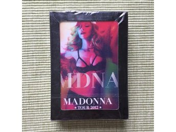 Madonna MDNA Tour Playing Cards