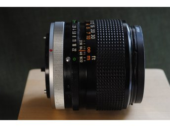 Canon Lens FD 100mm 2.8 SSC