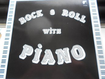 RECORD-SALE SOMMAR-REA! LP ROCK & ROLL WITH PIANO
