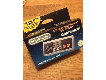 Nintendo Original handkontroll NINTENDO NES Classic Mini Edition * SLUTSÅLD * - Hasslö - Nintendo Original handkontroll NINTENDO NES Classic Mini Edition * SLUTSÅLD * - Hasslö