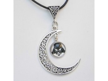 Darth Vader Star Wars Måne Halsband / Moon Necklace