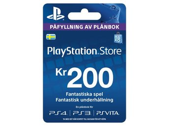 PS Live Card SE 200 (PS4)