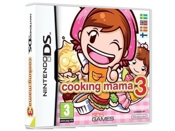 Cooking mama 3 Till NDS! INPLASTAD!