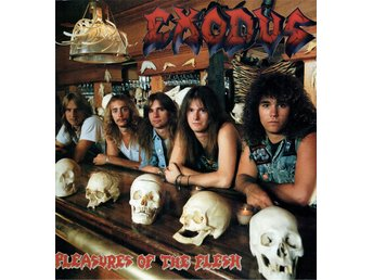 EXODUS - PLEASURES OF THE FLESH. LP