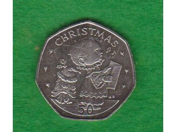 ISLE OF MAN   mynt 50 Pence