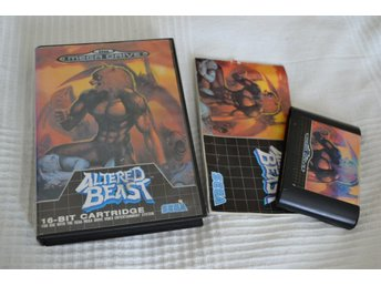 Altered Beast Mega Drive SEGA Komplett (Fodral+Kassett+Manual)