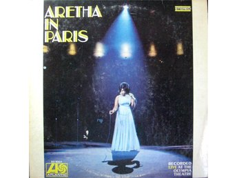 LP Aretha Franklin  Aretha in Paris