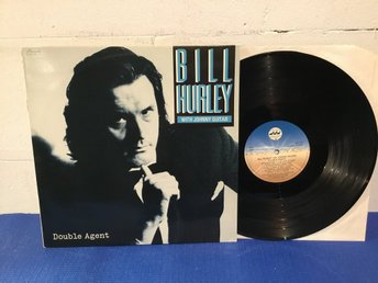 Bill Hurley With Johnny Guitar - Double Agent Swe Orig-85 !!!!!