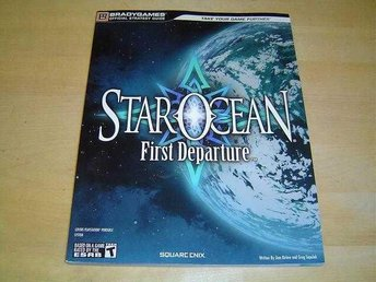 STAR OCEAN FIRST DEPARTURE WALKTROUGH GUIDE SONY PSP *NYTT*